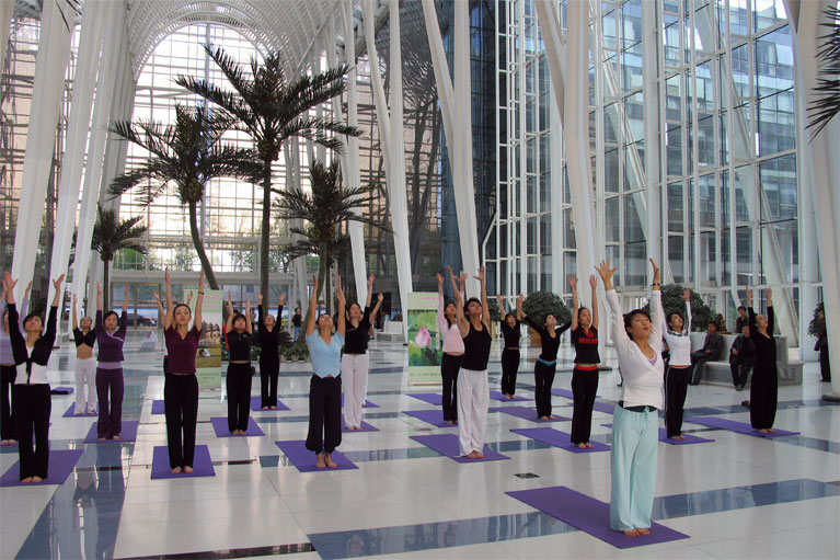 想拥有完美胸部瑜伽体式不能错过  瑜伽动作