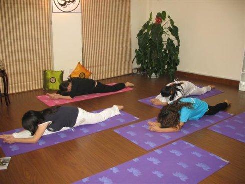 7瑜伽体式纠正圆肩驼背等不良体态  瑜伽动作