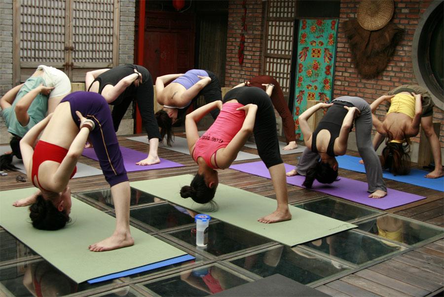 练习瑜伽为什么大腿越来越粗 瑜伽体式