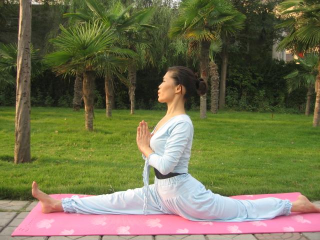可以开肩的瑜伽体式练习 瑜伽基本功